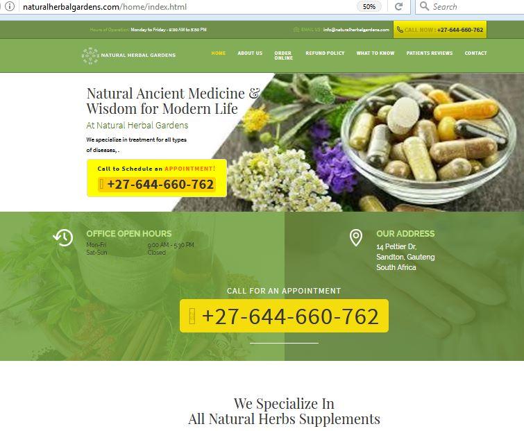 Scam Survivors • greenhouseherbalclinic com