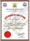 LAWYERS CERTIFICATE