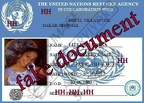lilian badara MY REFUGEE ID CARD