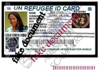 vivian williams My refugee id card