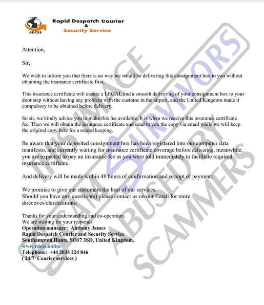 Scam Survivors • sgtlorapace38@gmail com
