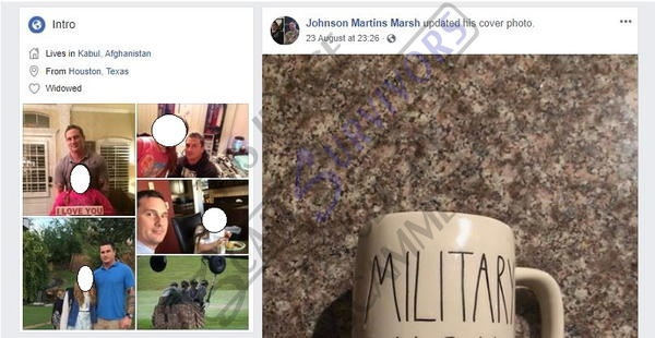 Scam Survivors • Scammers abusing stolen photos of Johnny Marsh