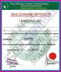 Fake Drug Clearance Certificate