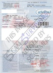 Fake bill of Lading