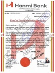 Fake Proof of Fund Ownership Certificate