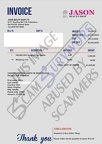 Fake Invoice Jason Beauty