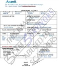 Fake Invoice Ansell