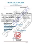 Fake Invoice C.P.H Mask Suppliers