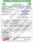 Fake Invoice Optimum Lab Home Health Supplies