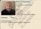 Stolen images used as Brian Christopher